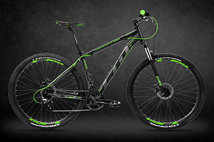 LTD Rebel 740 Black-Green 27.5