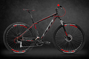LTD Rebel 750 Black-Red 27.5