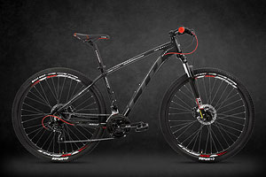 LTD Rocco 753 Black-Red 27.5
