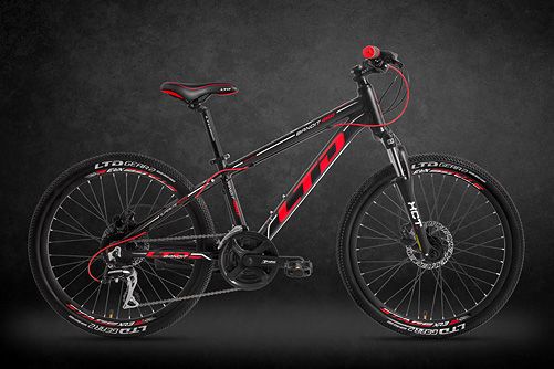 LTD Bandit 460 Black-Red