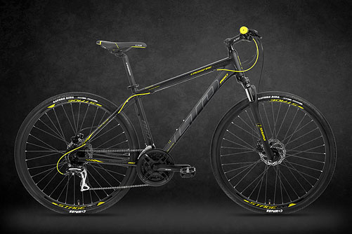 LTD Crossfire 860 Black-Neon