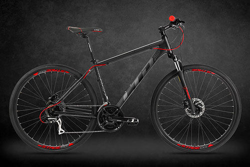 LTD Crossfire 860 Black-Red