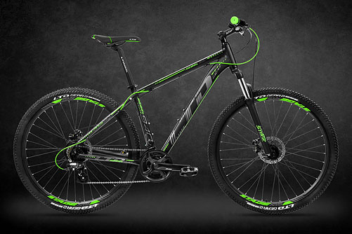 LTD Rebel 940 Black-Green 29
