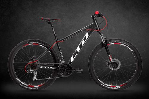 LTD Rocco 750 Black-Red