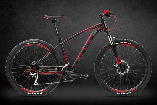 LTD Rocco 760 Black-Red