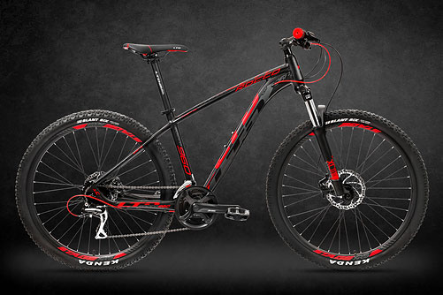 LTD Rocco 960 Black-Red 29